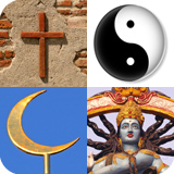 symbols from various world Religions